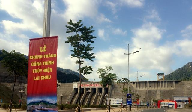 Ngày 20/12, chính thức khánh thành nhà máy Thủy điện Lai Châu