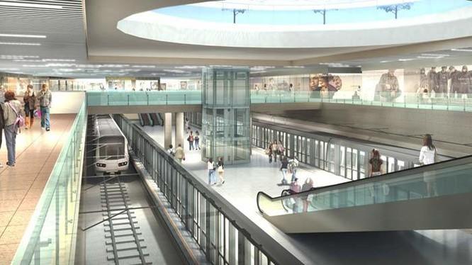 Dự án trung tâm thương mại ngầm Bến Thành