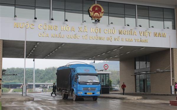 Cửa khẩu quốc tế đường bộ số II Kim Thành, Lào Cai