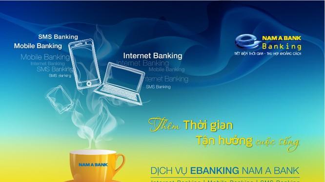 eBanking của Nam A Bank rất thuận tiện cho khách hàng khi phải đóng những khoản định kỳ như tiền điện, tiền nước...