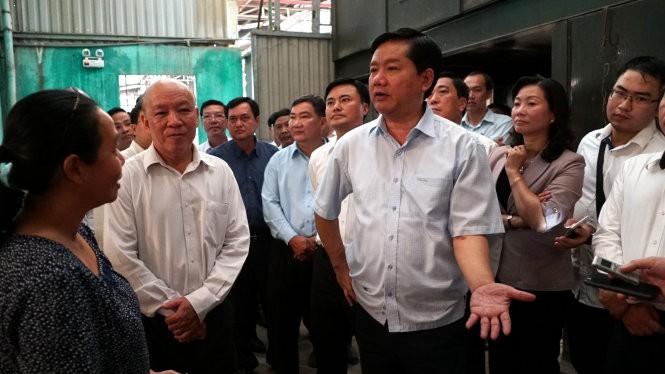 """Bí thư Đinh La Thăng muốn """"nâng"""" huyện Bình Chánh, Hóc Môn, Nhà Bè thành quận"""