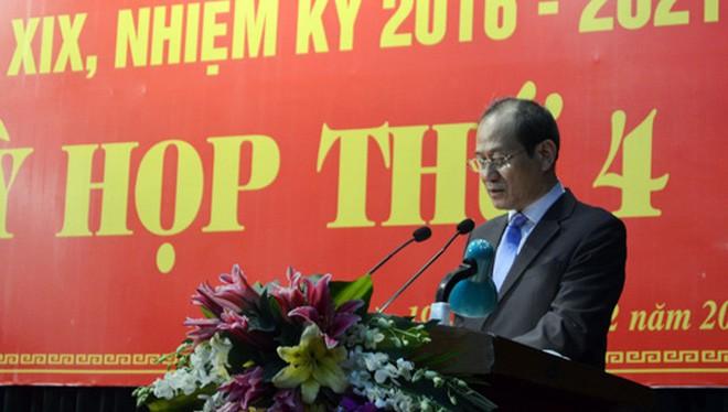 Ông Lưu Tiến Long, Thành ủy viên, Bí thư huyện ủy Mê Linh