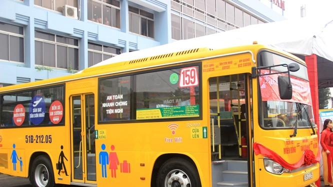 Xe buýt 5 sao tuyến 159
