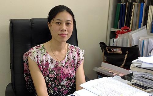 Bà Đỗ Thị Ngọc, Phó vụ trưởng Vụ Thống kê giá (Tổng cục Thống kê)