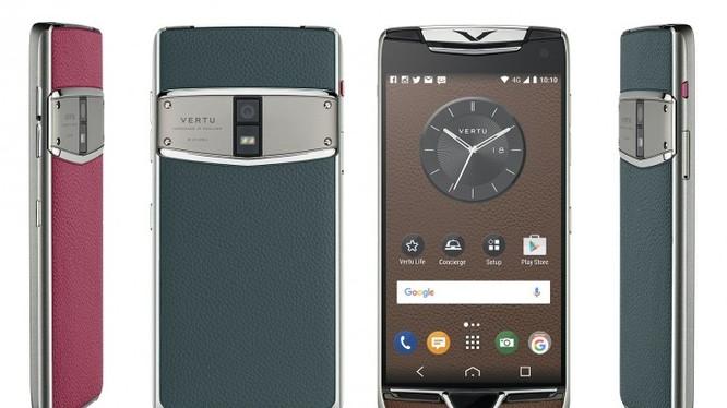 Mẫu smartphone 2 SIM đầu tiên của Vertu vừa ra mắt hôm 24/1