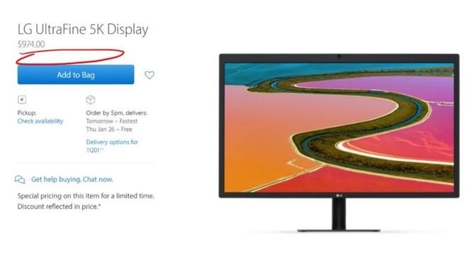 Bị người dùng chê, Apple xóa luôn đánh giá cho màn hình UltraFine 5K