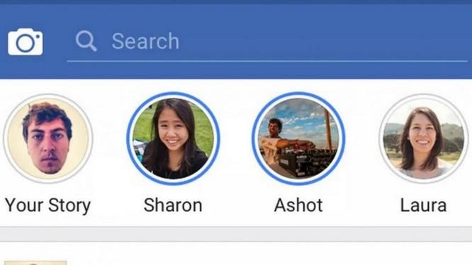 Facebook đang thử nghiệm Stories, giống Instagram Stories