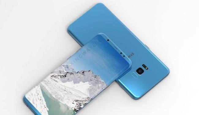 Ảnh dựng Galaxy S8 thiết kế bởi Kingway Lee (Nguồn: Weibo)