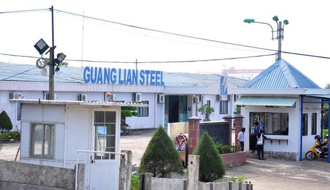Trụ sở Doanh nghiệp thép Quảng Liên tại KCN Dung Quất - (Nguồn Internet)