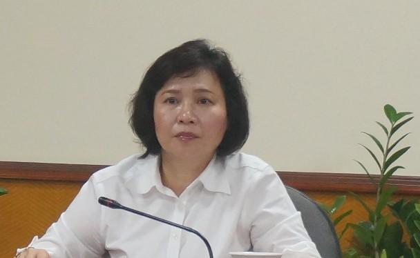 Thứ tưởng Bộ Công thương Hồ Kim Thoa
