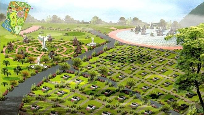 Phối cảnh Khu công viên nghĩa trang