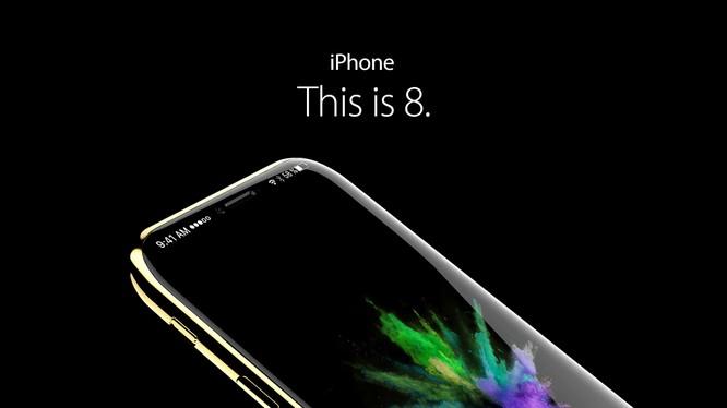 iPhone 8 trông rất khác biệt dưới góc nhìn của nhà thiết kế có tên Handy-abovergleich.