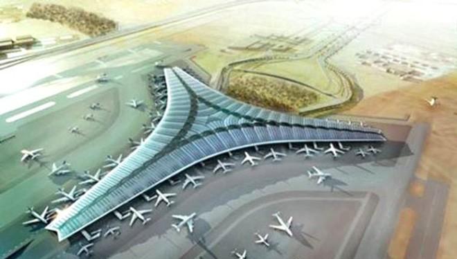 Một phối cảnh của dự án sân bay Long Thành