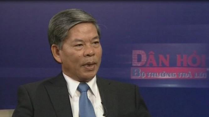 Nguyên Bộ trưởng TN-MT Nguyễn Minh Quang