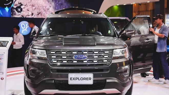 Ford Explorer có doanh số tháng đầu đạt hơn 130 xe.