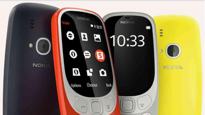 Nokia trở lại thị trường smartphone với mẫu điện thoại vang bóng một thời Nokia 3310