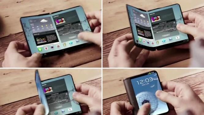 Galaxy X sẽ là smartphone có thể gập lại của Samsung?