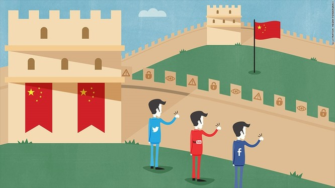 Trung Quốc: Không chỉ YouTube, tất cả dịch vụ của Google cũng như Facebook và các mạng xã hội lớn có nguồn gốc từ Mỹ đều bị chặn tại Trung Quốc. Lần chặn đầu tiên bắt đầu từ cuối 2007 đến tháng 3/2008. Sau đó, YouTube tiếp tục bị chặn từ năm 2009 đến nay