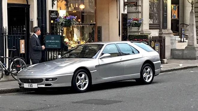 Siêu xe Ferrari lạ nghi của hoàng tử Brunei. Ảnh: Autoweek.