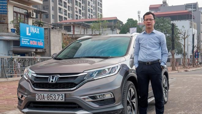 Honda CR-V - mẫu xe bán chạy nhất thế giới 4 năm liên tiếp