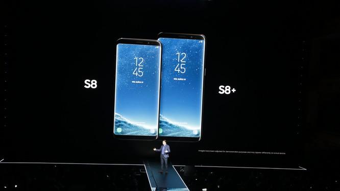 Samsung vừa chính thức công bố cặp đôi Galaxy S8 và S8 Plus