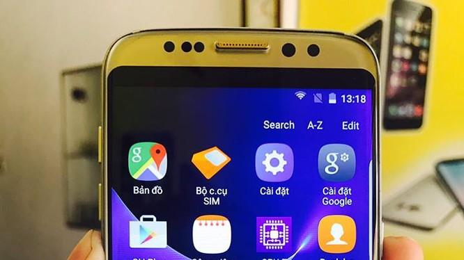 """Một chiếc """"Samsung Galaxy S8"""" Đài Loan được quảng cáo trên mạng."""