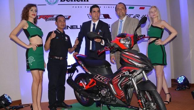 Benelli RFS150i 2017 vừa ra mắt ở Malaysia.