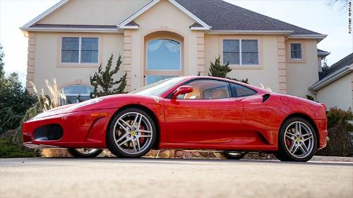 Ferrari F430 F1 Coupe đời 2007 của Donald Trump.
