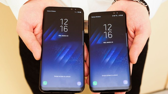 Samsung bắt đầu nhận đặt hàng Galasy S8 từ ngày mai (7/4)