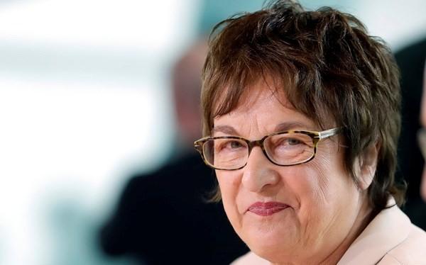Bộ trưởng Kinh tế Đức Brigitte Zypries. (Nguồn: AP)