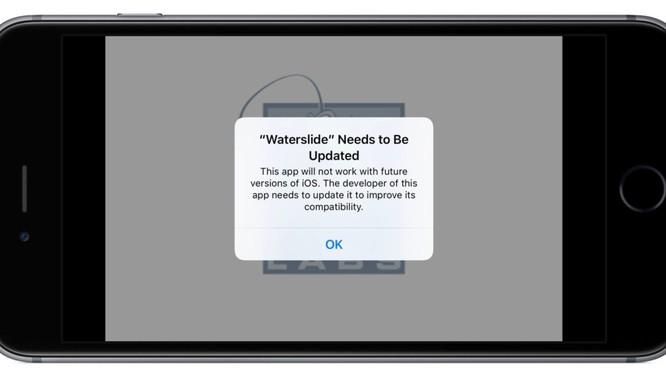 Apple đã bắt đầu cảnh báo các ứng dụng 32-bit từ lâu