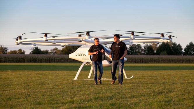 Volocopter 2X dự kiến hoạt động vào năm 2018