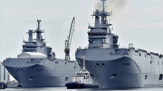 Tàu đổ bộ tấn công Mistral tại Ai Cập