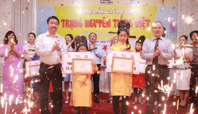 """Trạng Nguyên Tiếng Việt"""" nhỏ tuổi toàn quốc năm học 2016-2017."""