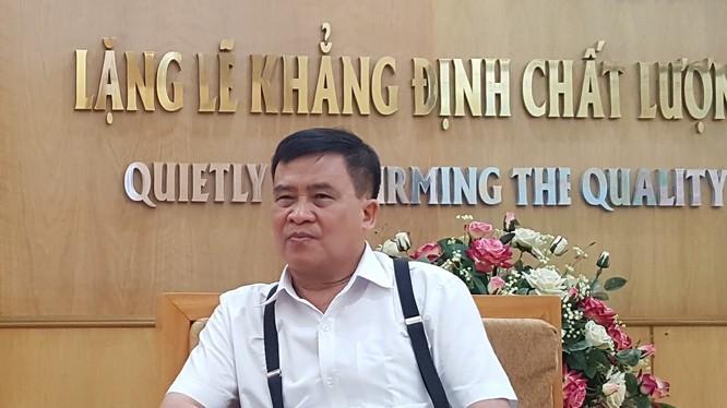 Ông Tạ Quyết Thắng - Chủ đầu tư xây dựng cây cầu Tam Bạc với thời gian kỷ lục 50 ngày.