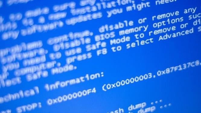 Lỗi màn hình xanh sẽ giúp Windows XP thoát khỏi Wanna Cry