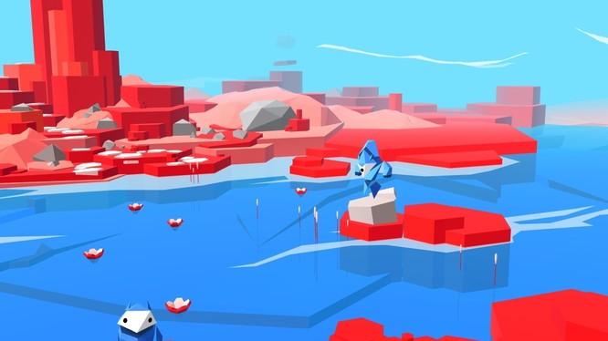 Giao diện trò chơi Interland của Google (ảnh: Engadget)