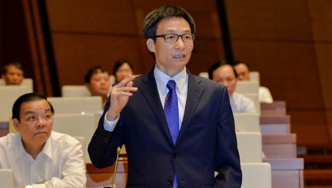 Phó Thủ tướng Vũ Đức Đam trả lời chất vấn về vấn đề bán đảo Sơn Trà