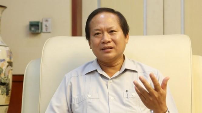 Bộ trưởng Thông tin và Truyền thông Trương Minh Tuấn.
