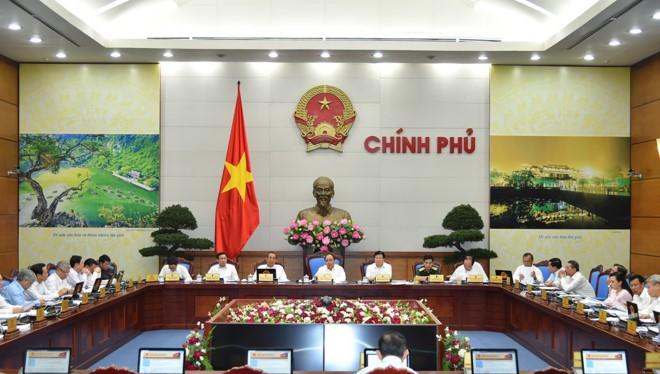 Toàn cảnh buổi họp Chính phủ thường kỳ tháng 6