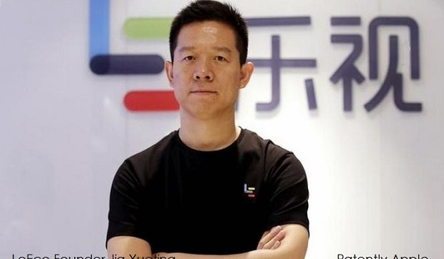 CEO Jia Yueting của LeEco