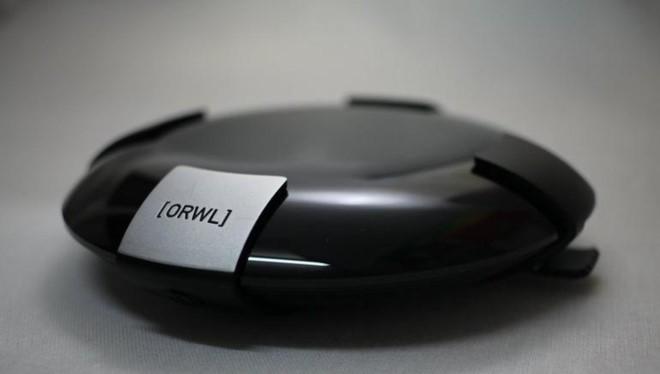Máy tính Orwl khá nhỏ gọn nhưng có khả năng bảo mật cao. Ảnh:Orwl