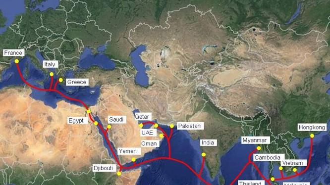 Viettel chính thức đưa vào khai thác thương mại hệ thống cáp quang biển AAE-1