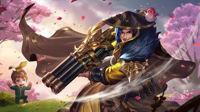 Một hình ảnh của trò chơi Honour of Kings nổi tiếng (ảnh: SCMP)
