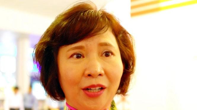 Bà Hồ Thị Kim Thoa. Nguồn Internet