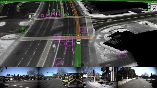 Xe tự lái được dạy cách nhường đường cho xe cứu thương vượt qua ngay cả khi tín hiệu đèn xanh tại giao lộ đã bật và các phương tiện khác bắt đầu di chuyển.