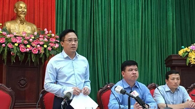 Ông Mai Sơn, Cục phó Cục Thuế Hà Nội. Ảnh Mai Hà/Thanh niên
