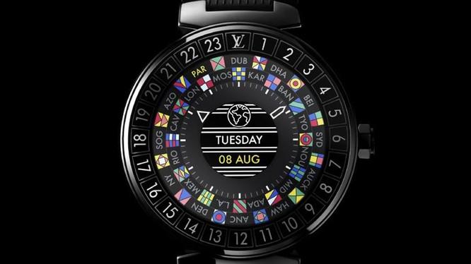 Smartwatch Tambour Horizon của Louis Vuitton