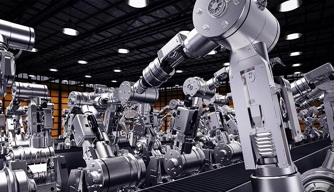 Mô hình nhà máy thông minh. Ảnh minh họa
