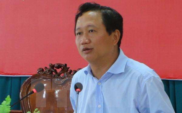 Bị can bị truy nã Trịnh Xuân Thanh đã ra đầu thú sau gần một năm bị truy nã quốc tế